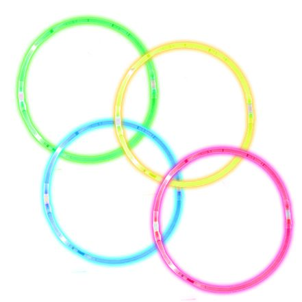 Assorted Glow Bracelets - Pack of 10