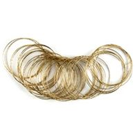 Pack 50 Gold Bangles