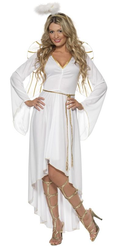 Angel Costume White And Gold
