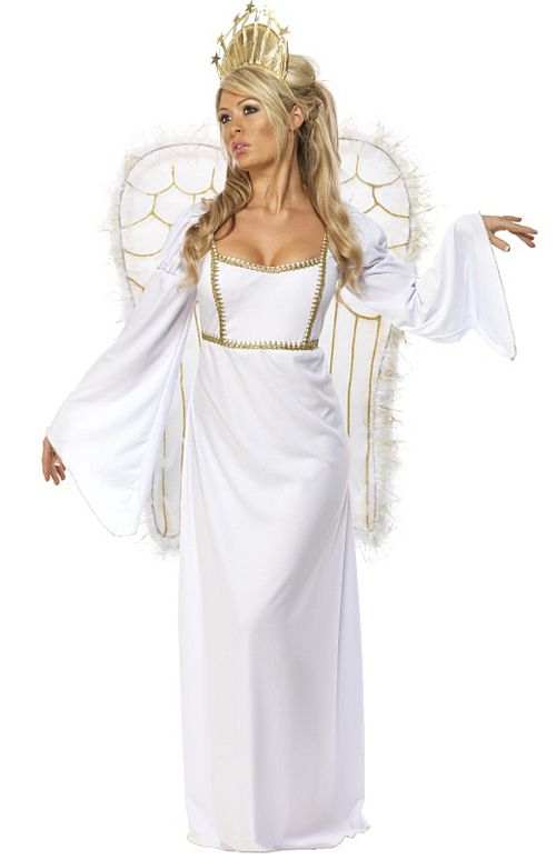 Angel Costume With Long Dress