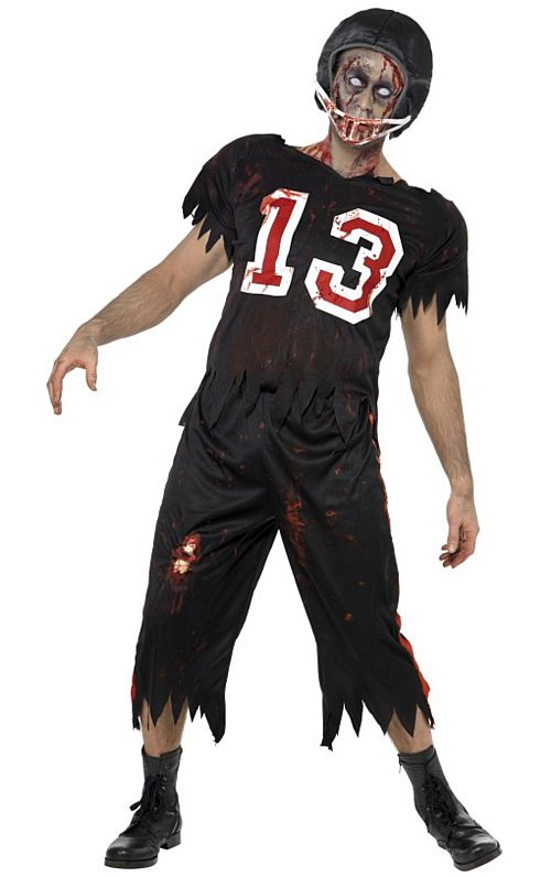 High School Horror Zombie American Footballer
