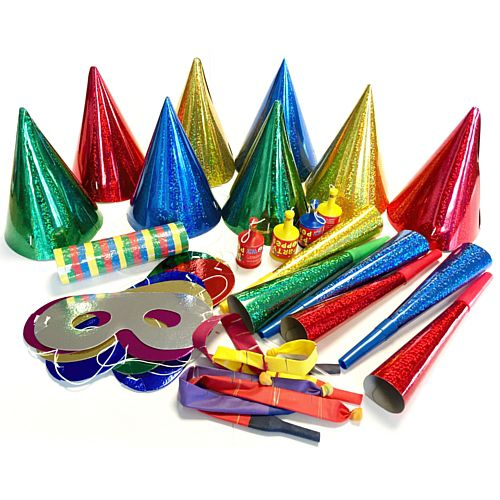 Assorted Party Pack of 58 Novelties