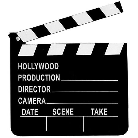 Click to view product details and reviews for Small Wooden Clapperboard 20cm.