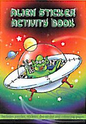 Alien Sticker Activity Book - 36 Pages