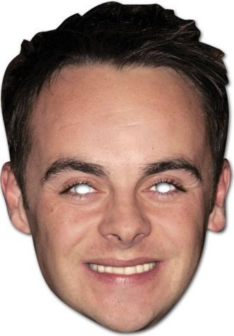 Ant Mcpartlin Card Mask