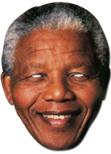 Nelson Mandela Card Mask