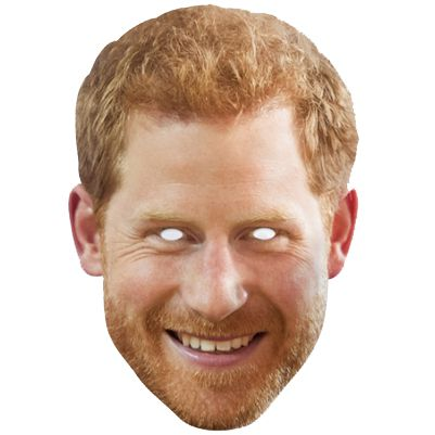 Prince Harry Card Mask