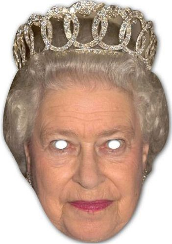 The Queen Card Mask
