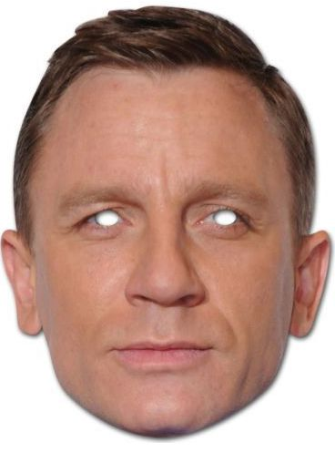Daniel Craig Card Mask