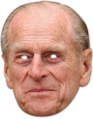Prince Philip Card Mask