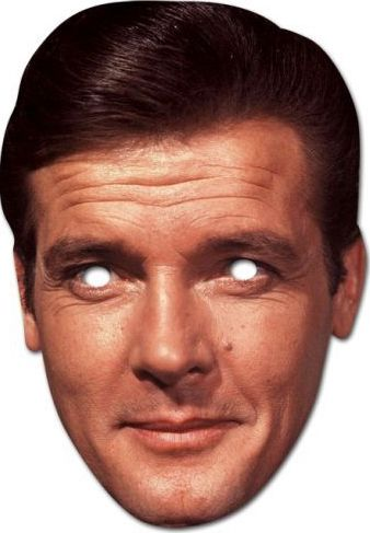 Roger Moore Card Mask