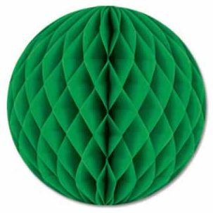Dark Green Tissue Ball - 30cm