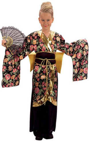 Click to view product details and reviews for Child Geisha Costume.