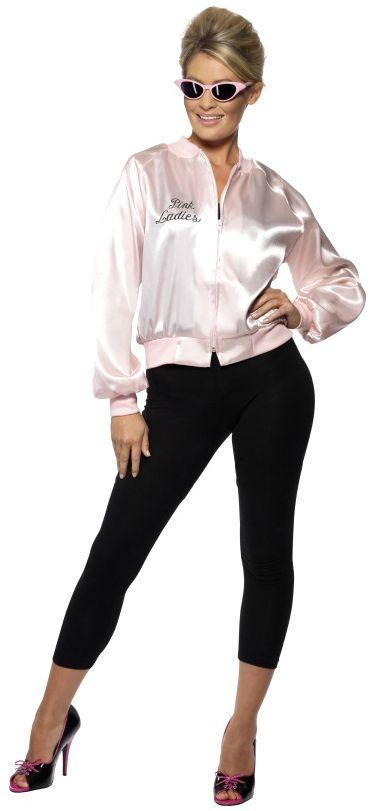 Licensed Grease Pink Lady Jacket