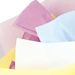 Tissue Sheets - Assorted Colour Pastel - Pack of 10