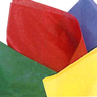 Tissue Sheets - Assorted Colour -Pack of 10