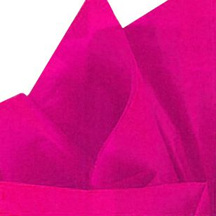 Hot Pink Tissue Sheets - Pack of 10