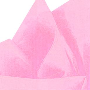 Pastel Pink Tissue Sheets - Pack of 10