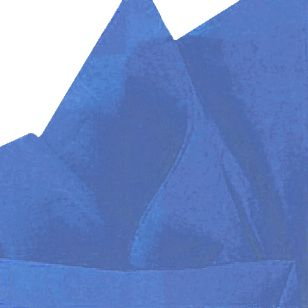 Royal Blue Tissue Sheets - Pack of 10