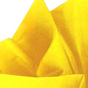 Yellow Tissue Sheets - Pack of 10