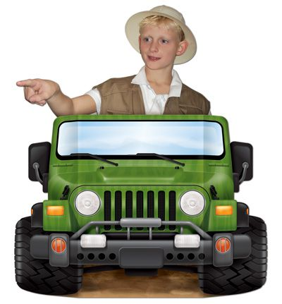 Jungle Safari Stand-In Photo Prop - 94cm