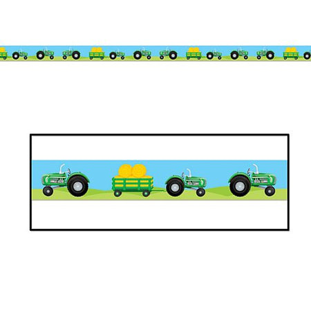 Tractor Party Tape 61m