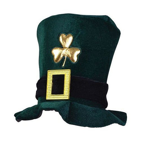 Irish Hat- Green Velvet