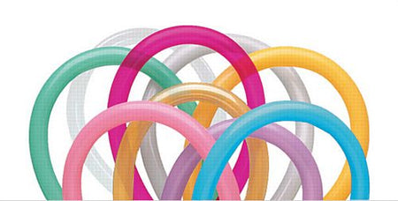 Click to view product details and reviews for Qualatex Long Modelling Balloons Deluxe Entertainer Assortment 152m Pack Of 100.
