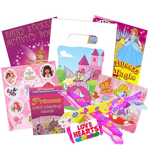 Party Bag and Fillers - Princess Superior