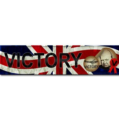 Click to view product details and reviews for War Time Banner 120 X 297cm.
