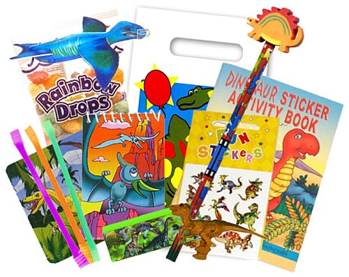 Party Bag & Fillers - Dinosaur Superior
