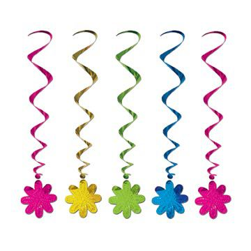 Flower Whirls - 1.02m - Pack of 5