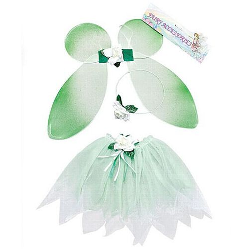 Child's Green Fairy Set