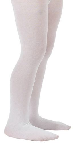 Child's White Tights
