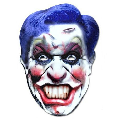 Scary Clown Card Mask