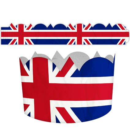 British Union Jack Crown - Each