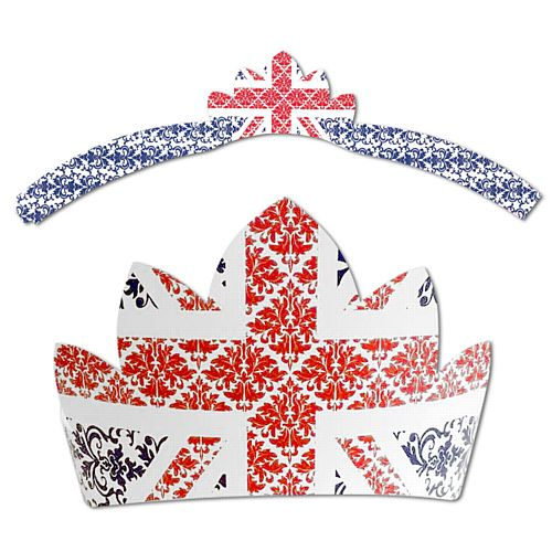 British Union Jack Tiara - Each