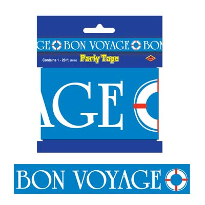 Bon Voyage Party Tape - 6.1m