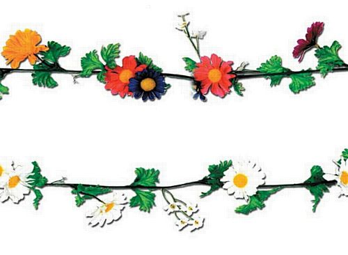 Flower Garlands - assorted designs - 1.8m