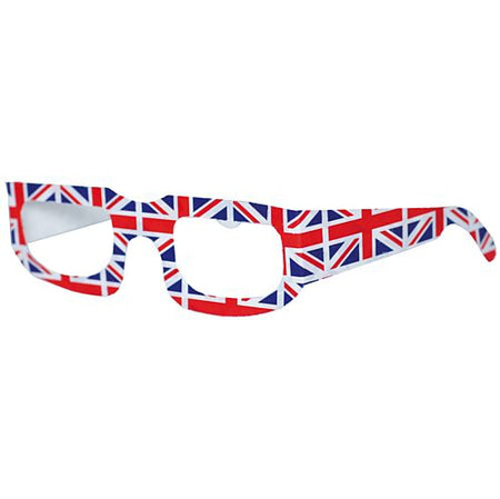 British Union Jack Card Spectacles - Each