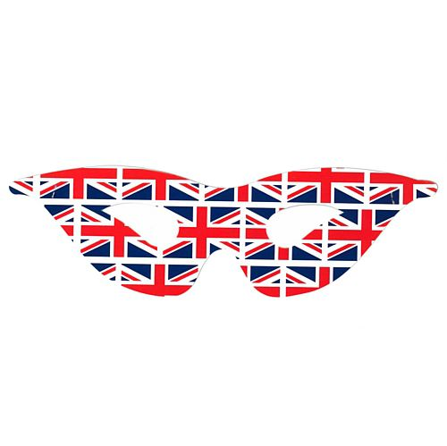 British Union Jack Masks - Each