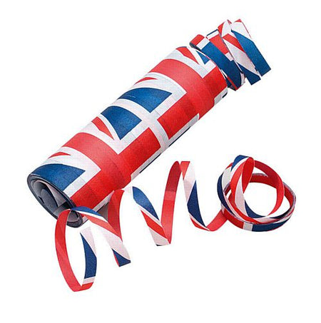 Great Britain Streamers - 13cm - 20 Throws