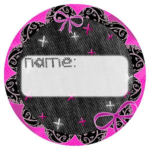 Hen Party Name Sticker - Each