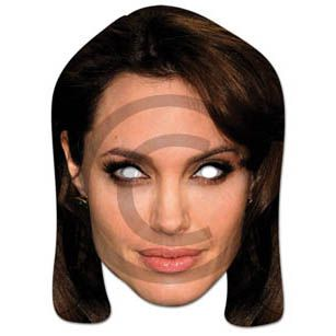Angelina Jolie Card Mask