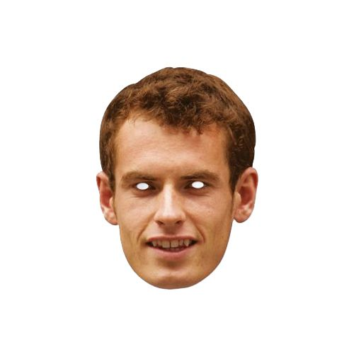 Andy Murray Card Mask