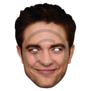 Robert Pattinson Card Mask