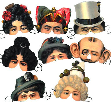 Moyse's Hall Museum Mask Assortment - Pack of 8
