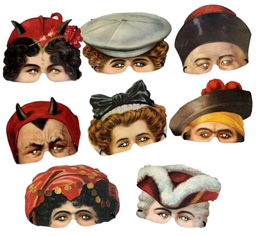 Madame Tussauds Mask Assortment - Pack of 8