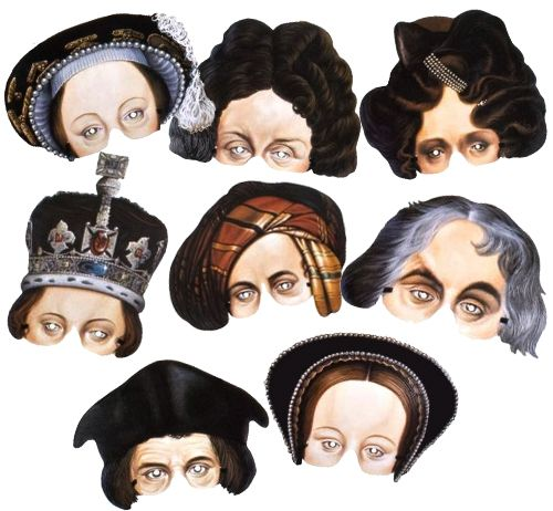 National Portrait Gallery Mask Assortment - Pack of 8