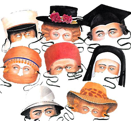 Party Pairs Mask Assortment - Pack of 8
